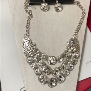 Zi Collection Paparazzi Necklace Earring Set